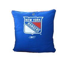 T-shirt Pillow - New York Rangers hockey Hockey Gifts, Hockey Stuff, Rangers Hockey, Hockey Teams, New York Rangers, New York Giants, All Things New, My Boys, Whale