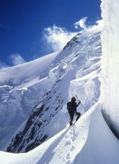 Nanga Parbat is the ninth highest mountain in the world and the western anchor of the Himalayas.