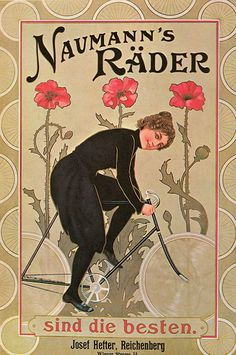 Poppies and Art Nouveau go together like Champagne and macarons. Even if she does look like a cat burglar in her bloomers.