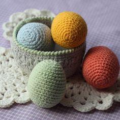 Вязаные яйца на Пасху:)  #вязание #крючком #Пасха#пасха#рукоделие#knitting #handmade#eggs #easter#crochet#home#rusmom_золотые_руки#олино_рукоделие