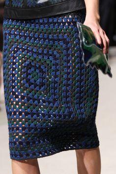 Crochet Skirts Christopher Kane Fall 2011 - Details - Christopher Kane at London Fashion Week Fall 2011 - Details Runway Photos Crochet Dress Outfits, Crochet Bodycon Dresses, Crochet Skirts, Crochet Clothes, Christopher Kane, Mode Crochet, Knit Crochet, Knit Fashion, Trendy Fashion
