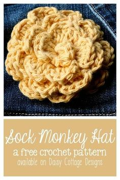 This simple flower crochet pattern from Daisy Cottage Designs is beautiful and easy. Crochet one in under 30 minutes for a beautiful pin or hair clip.