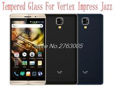 2pcs Ultra-thin Tempered Glass for Vertex Impress Jazz  smartphone mobile Screen Protector Film Protective Screen Cover