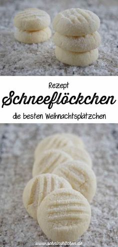 Snowflakes - the best Christmas cookies- Schneeflöckchen – die besten Weihnachtsplätzchen Bake snowflakes for Christmas – a great recipe for tender and buttery Christmas cookies for Advent coffee. Snowflake Christmas Cookies, Best Christmas Cookies, Christmas Baking, Snowflake Snowflake, Snowflakes, Cupcake Recipes, Baking Recipes, Cookie Recipes, Dessert Recipes