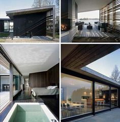 Gorgeous courtyard home by WRB Architects, Stockholm