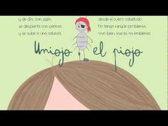 """UNIOJO EL PIOJO. Del libro """"Rimas, mostrencos, bichos y zopencos"""", textos de Raquel Ibáñez e ilustraciones de Victoria González. (web de la ilustradora: http://www.bichoazul.com/)"""
