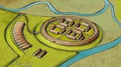 New Viking Ring Fortress to Provide Knowledge about Viking War and Conflicts Viking Life, North Sea, Vikings, Bluetooth, Coast, Knowledge, War, Ring, History
