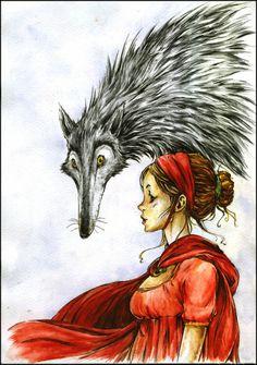 montar a caballo rojo mensajes aspirante - Hay alguien en el lobo