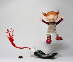 sculpture illustration by Emi Sfard
