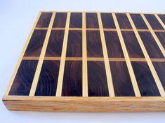 Walnut and Hard Maple End Grain Cutting Board ready by psItsDebbie