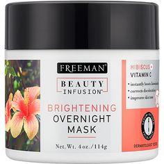 Beauty Infusion Brightening Overnight Mask with Hibiscus + Vitamin C