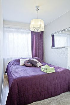 Kaupunkikoti Koto in Mikkeli / bedroom. You can rent the flat! Beautiful Homes, Flat, Canning, Bedroom, Furniture, Home Decor, House Of Beauty, Bass, Decoration Home