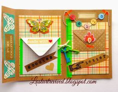 The Lost Art of Letter Writing...Revived!: Let's Make a Bi-Fold Pocket Letter...retro charm