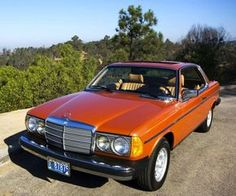 1980 300CD Diesel Coupe in Inca Red Metallic