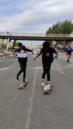 Skate 3, Long Skate, Skate Girl, Longboard Design, Skateboard Design, Skateboard Girl, How To Skateboard, Longboard Cruising, Skateboard Videos