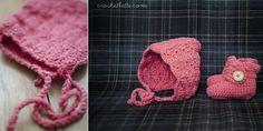 Simple Shell Stitch PixieBonnet ~~~ free pattern