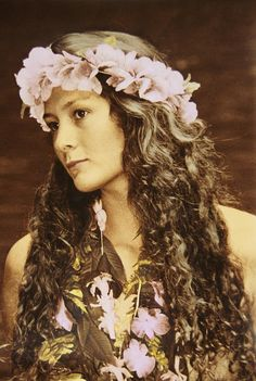 Hawaiian Wahine Photograph  - Hawaiian Wahine Fine Art Print