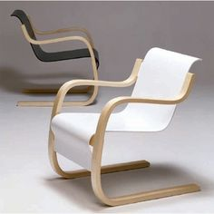 Artek Alvar Aalto - Armchair 42 - Artek Alvar Aalto - Lounge & Armchairs #pintofinn