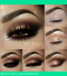instagram : @auroramakeup FB : https://www.facebook.com/AuroraAmorPorElMaquillaje  PICTORIAL de este maquillaje hermosas    Brows were made with Dip Brow Pomade in CHOCOLATE by Anastasia Beverly Hills  Cejas con DIP BROW POMADE en color CHOCOLATE de http://www.anastasia.net/  Products @motivescosmetics  Productosen ojos de Motives cosmetics que pueden encontrar en http://www.motivescosmetics.com/ ( USA & CANADA) Http://www.globalshop.com/ ( internacional , no todos los productos estan…