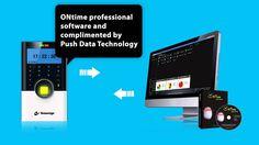 IP Based Professional Access Control T&A Biometric Machine S B75C