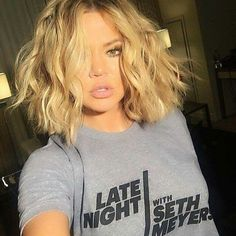 Khloe Kardashian hair is beautiful