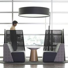 Buy Turnstone Big Lamp from Steelcase. The Campfire Big Lamp creates a space within a space, uses simple incandescent lighting and invites peop. Patio Chair Cushions, Patio Chairs, Office Chairs, Adirondack Chairs, Lounge Chairs, Room Chairs, Dining Chairs, Sofa Furniture, Furniture Design
