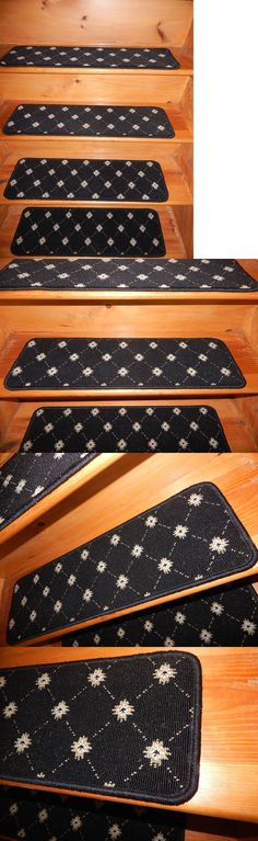 Stair Treads 175517: 13 U003d Step 10 X 29 Stair Treads Staircase Woven Nylon  Little Shaggy Carpet.  U003e BUY IT NOW ONLY: $50.99 On EBay!
