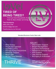 Join me as a new  Thrive customer and receive a credit towards your first order OR become a promoter and get CASH back!