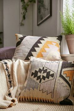 Shop Plum & Bow Tepeck Kilim Pillow at Urban Outfitters today. We carry all the latest styles, colors and brands for you to choose from right here.