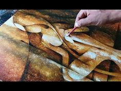 Abstract Painting / Abstract Figurative Painting in Acrylics / Demonstration - YouTube