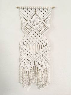 One-of-a-kind Macrame Wall Hanging  California by knottedLA