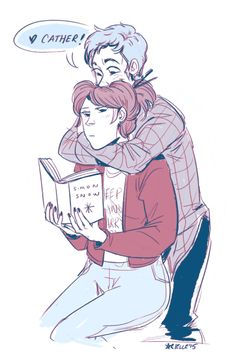 Fangirl by Rainbow Rowell-- I love this book and I love Levi Fangirl Book, Book Fandoms, Book Nerd, Fanart, Eleanor And Park, Rainbow Rowell, Dibujos Cute, Ya Books, Reading Books