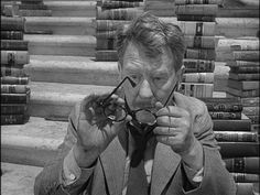 Image result for Burgess Meredith Twilight Zone Librarian