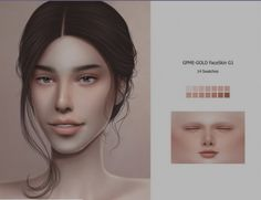 GOPPOLS Me: Face Skin G1 • Sims 4 Downloads The Sims 4 Skin, The Sims 4 Pc, Sims Cc, Sims 4 Game Mods, Sims Mods, Toddler Cc Sims 4, Sims 4 Nails, Play Sims 4, Sims Stories