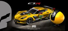 Official Licence Corvette by Racing Emotion