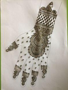 Henna Tattoo Designs Arm, Mehndi Designs Book, Mehndi Design Pictures, Henna Mehndi, Mehendi, Aluminum Foil Art, Henna Tutorial, Henna Hands, Beautiful Mehndi Design