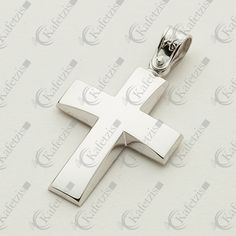 Ανδρικός σταυρός Crosses, Jewelery, Symbols, Mens Fashion, Baby, Ideas, Presents, Jewelry, Moda Masculina
