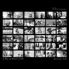 36 frames - day in the life project of his daughter. Great creative project!