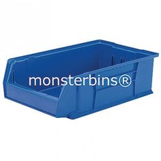 Akro-Mils 30280 from Monster Bins . Super Size AkroBin These Stacking Bins measure . 30280 Akro Bins are Available in Blue, Red or Yellow. Storage Bins, Storage Chest, Stacking Bins, Toy Chest, Yellow, Blue, Red, Home Decor, Storage Crates