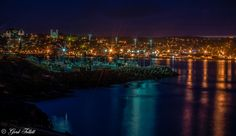 Photograph Harbour Night Lights by Gord Follett on 500px