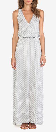 Joie Jaylen Maxi Dress in Silverfox