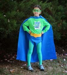 No Sew Super Why Costume