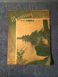 Munising Michigan Recreational Vintage Travel Guide Booklet 1940 039 s Alger County   eBay