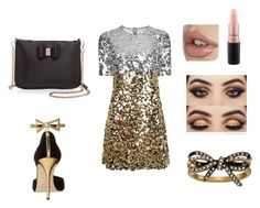 """""""#789"""" by eliza147 ❤ liked on Polyvore featuring Dolce&Gabbana, Oscar de la Renta, Ted Baker, MAC Cosmetics and Marc Jacobs"""
