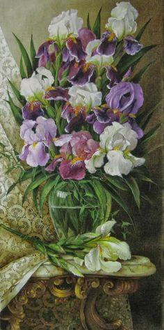 Helen Dobel (b.1963) — Iris  (798×1600)