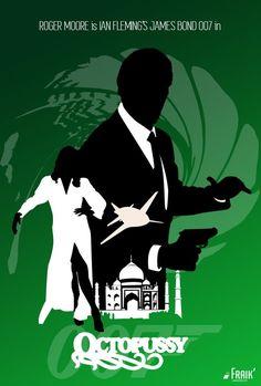 Chargé d'enquêter sur la mort très suspecte de l'agent 009 (pourquoi avait-il donc cet inestimable œuf Fabergé dans la main ?...), James Bond assiste à la mise aux enchères de l'œuf. Le richissime Kamal Khan en fait l'acquisition. Ce prince Indien exilé semble nourrir de secrètes accointances avec le général renégat Orlov. Mais quel lien y a-t-il entre l'œuf, les complots du tandem russo-indien et la désirable, bien que mystérieuse, Octopussy ?