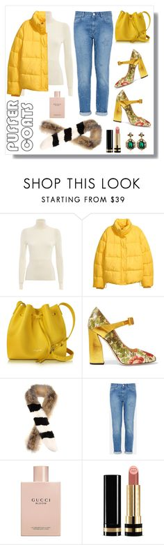 """""""Puffer Coats #5"""" by ziasilver ❤ liked on Polyvore featuring Gucci, Lancaster, Off-White and STELLA McCARTNEY"""