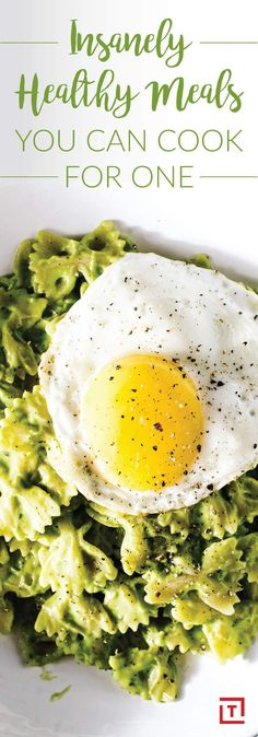 Insanely Healthy Meals You Can Cook for One