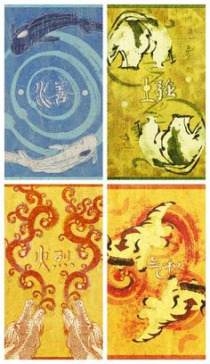 """""""powers are divided by four, the world is guided by one."""" Avatar: The Last Airbender Phone Wallpapers"""