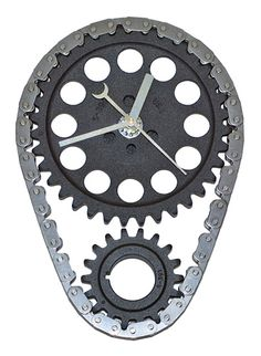 cool automotive wall art | Cool car part gift clock. The perfect decor for any automotive or ...